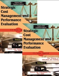 Pooja Law House CA Final Strategic Cost Management and Performance Evaluation for New Syllabus By CA Sanjay Aggarwal Applicable for 2021 Exam