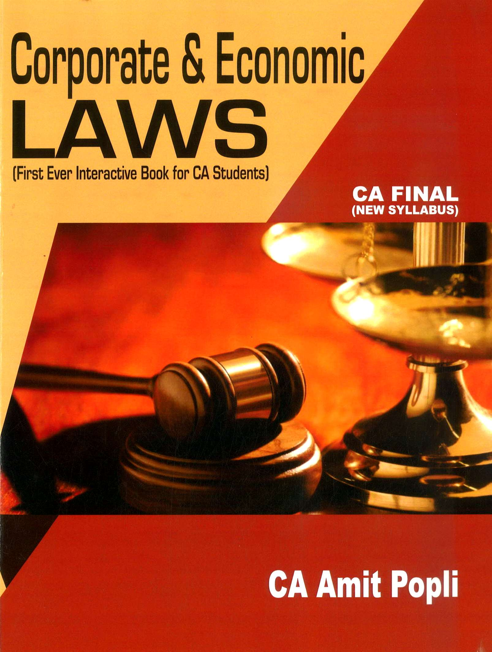CA Final New Syllabus Corporate and Economic Laws By CA Amit Popli Applicable for May 2019 Exam