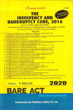 The Insolvency and Bankruptcy Code, 2016 May 2020