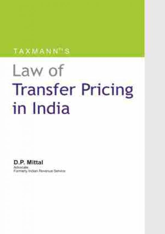 Law of Transfer Pricing in India 1