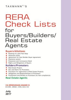 RERA Check Lists for Buyers/Builders/Real Estate Agents