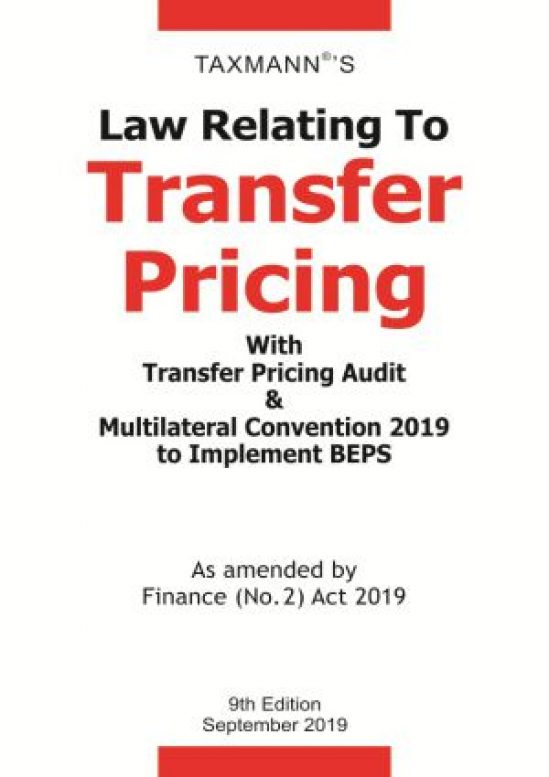 Law Relating To Transfer Pricing With Transfer Pricing Audit & Multilateral Convention 2019 to Implement BEPS 1