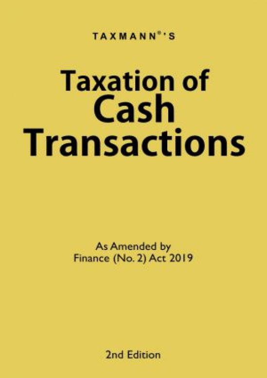 Taxation of Cash Transactions 1