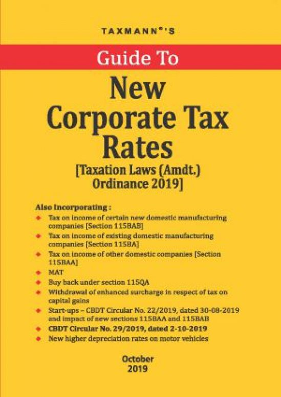 Guide To New Corporate Tax Rates 1
