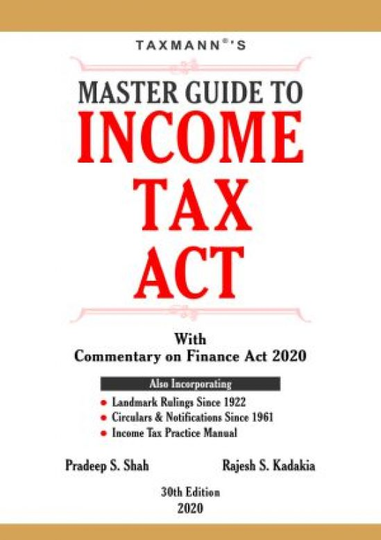Master Guide To Income Tax Act 1