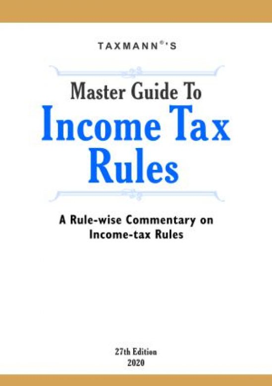 Master Guide To Income Tax Rules 1