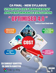 MakeMyDelivery CA Final OPTIMISED STRATEGIC COST MANAGEMENT AND PERFORMANCE EVALUATION By CA Sankalp Kanstiya Applicable for May/Nov 2020 Exam
