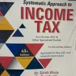 Commercial Systematic approach to Income Tax for CA Inter - IPCC & Other by Dr. Girish Ahuja & Dr. Ravi Gupta for 2021 Exam (Commercial Law Publishers)