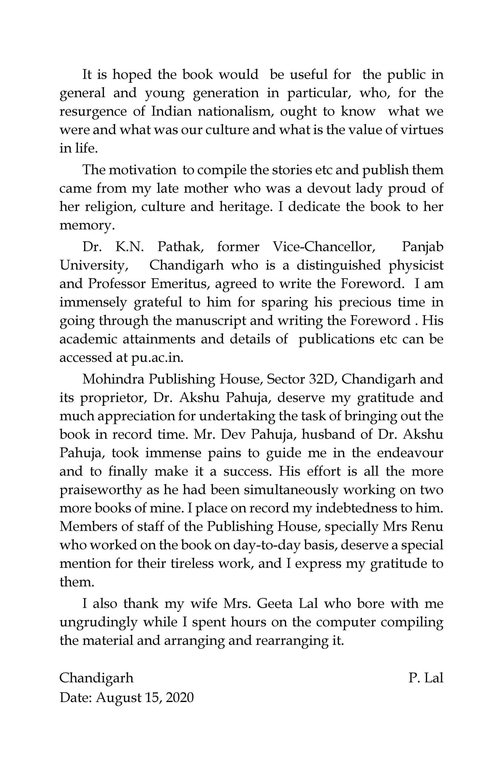 Let's Laugh & Laugh HaHaHa (Book of jokes) – culled and compiled by P. Lal (Author), Dr. S. S. Bhatti (Foreword)