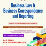 Padhuka Business Law & Business Correspondence And Reporting for CA Foundation By CA G. Sekar B. Saravana Prasath Applicable for 2021 Exam