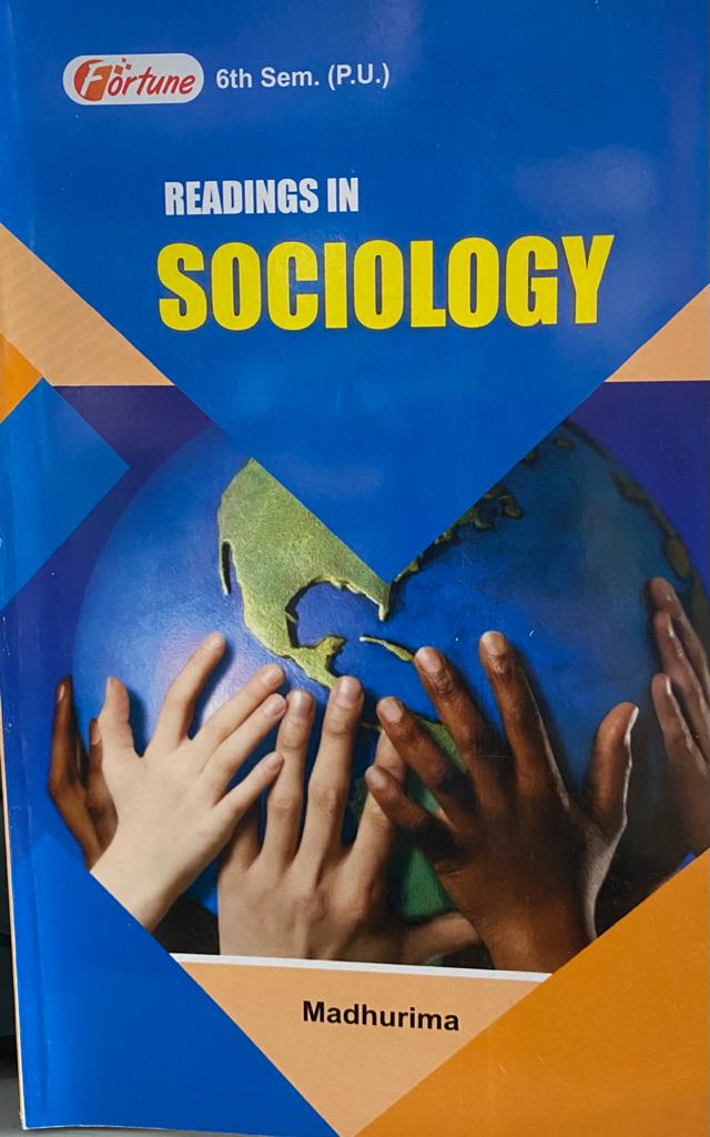 Madhurima Readings in Sociology for B.A. Sem. 6 (P.U.) REVISED Edition 2021