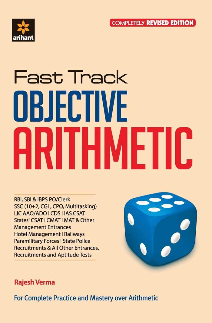 Fast Track Objective Arithmetic by Arihant