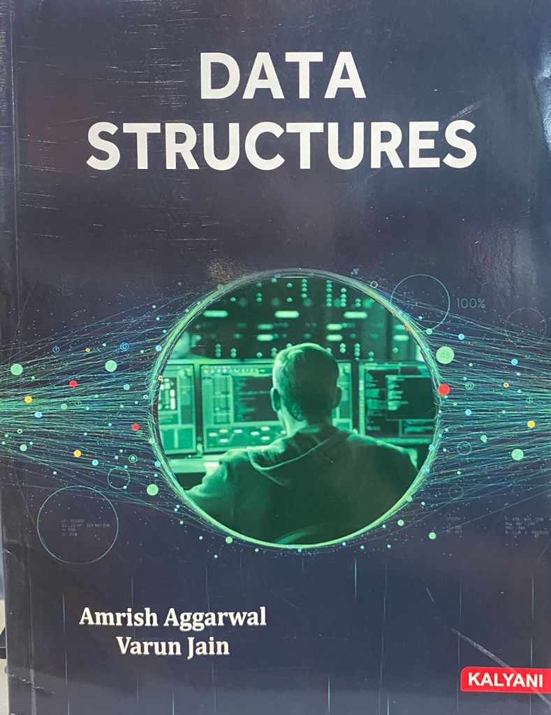Data Structures for BCA 3rd Sem. (P.U.) by Amrish Aggarwal Edition 2021