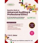 Commercial's Question Bank on Advanced Auditing & professional Ethics by G. Sekar for Nov 2021